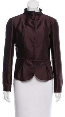 Valentino Structured Peplum Jacket