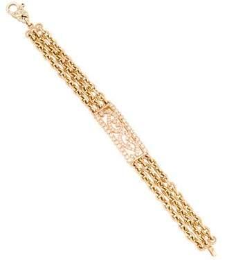 18K Diamond ID Bracelet