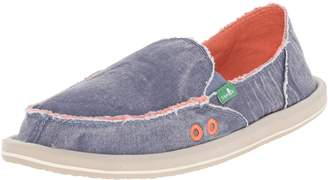 Sanuk Women's Donna Distressed Flat
