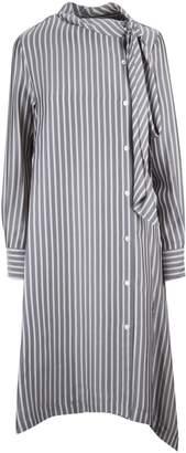 See by Chloe Flared Stripe Dress