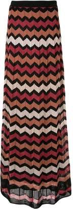 M Missoni long zigzag skirt