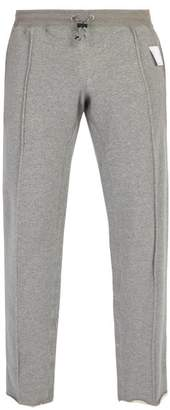 Satisfy - Mid Weight Frayed Hem Track Pants - Mens - Grey