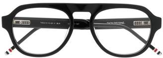 Thom Browne Eyewear BLACK GLASSES