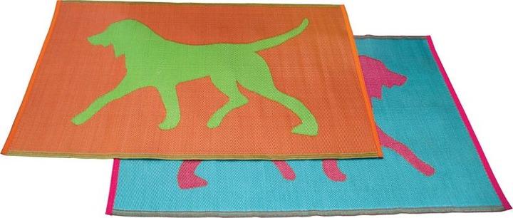Koko - Dogs Plastic Floormat 4 x 6