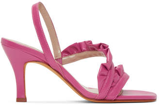 Maryam Nassir Zadeh Pink Estrella Sandals