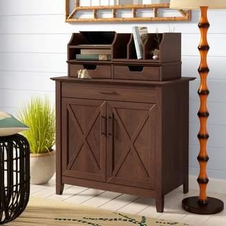 Beachcrest Home Oridatown Credenza Desk