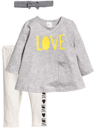 H&M 3-piece Set - Gray