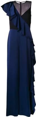 Diane von Furstenberg ruffle jumpsuit