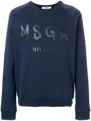 MSGM branded sweatshirt