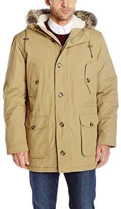 Ben Sherman Men's Quilted Parka Coat