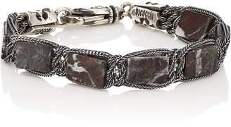 Emanuele Bicocchi Men's Portoro Marble Beaded Bracelet