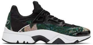 Kenzo Green Memento Sonic Sneakers