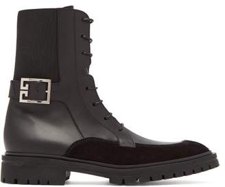 Givenchy Aviator 4g Leather Boots - Womens - Black