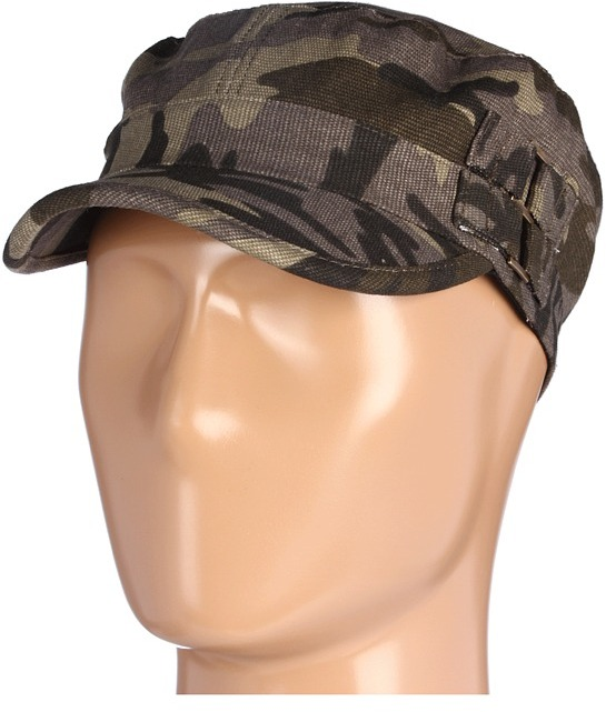 Gabriella Rocha Violette Camoflauge Cadet Hat (Army Green) - Hats