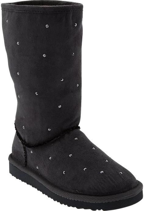 Old Navy Girls Studded-Cozy Boots