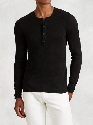 Linen Henley $298 thestylecure.com