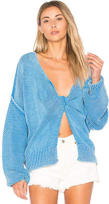 Wildfox Couture Solid Sweater in Blue $212 thestylecure.com