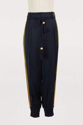 Peter Pilotto Satin trousers