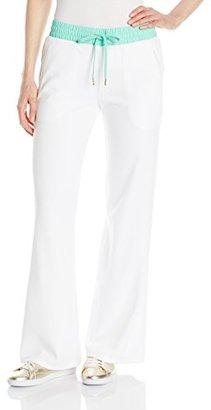 Juicy Couture Black Label Women's FT Velour Pant $39.48 thestylecure.com