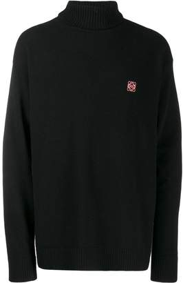 Loewe Anagram turtleneck sweater