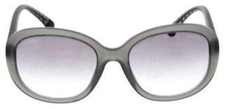 Chanel Quilted Oversize Sunglasses