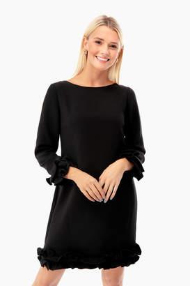 Celine Sail to Sable Double Ruffle Dress