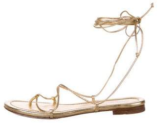 Michael Kors Bradshaw Wrap-Around Sandals