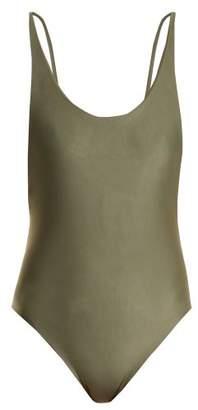 Haight - Scoop Back Swimsuit - Womens - Khaki