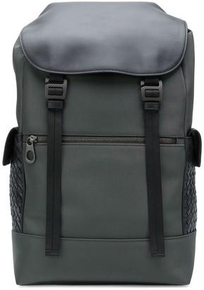 Bottega Veneta Intrecciato panel backpack