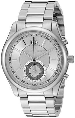 0c93c5d0d5d2 Michael Kors Men s Aiden Silver-Tone Watch MK8417