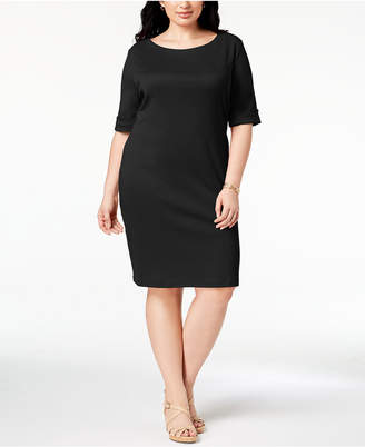 Karen Scott Plus Size T-Shirt Dress, Created for Macy's