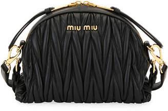 Miu Miu My Miu Matelassé Small Crossbody Bag