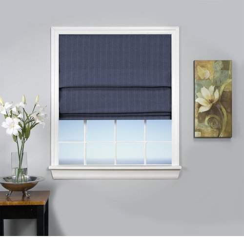 Trent Austin Design Johnson Village Blackout Roman Shade