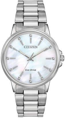 Citizen Women's Eco-Drive Chandler Stainless Steel Bracelet Watch 37mm