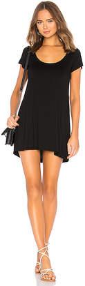 Michael Lauren Cortez Scoop Neck T Shirt Dress