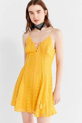 The Jetset Diaries Alyanna Embroidered Tassel Dress