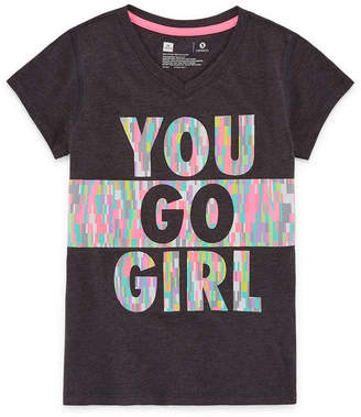Xersion Graphic Short Sleeve T-Shirt Girls 4-16 and Plus