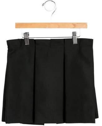 Milly Minis Girls Pleated Skirt