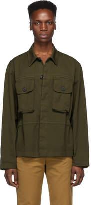 Dries Van Noten Khaki Chillida Safari Shirt