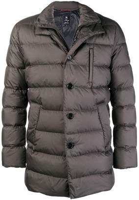 Fay button padded coat