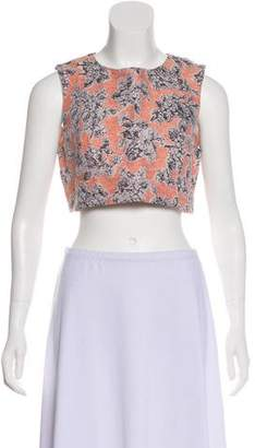 Thakoon Jacquard Floral Crop Top w/ Tags