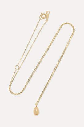 Catbird Swan Egg 14-karat Gold Necklace