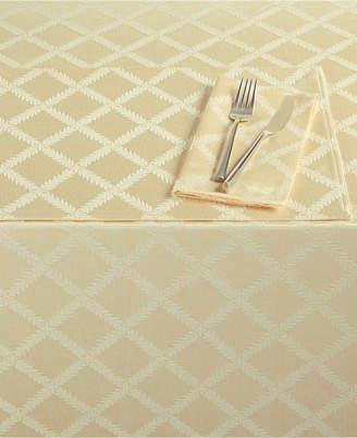 "Lenox Laurel Leaf 70"" x 104"" Rectangle Tablecloth"