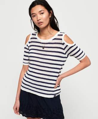 Superdry Makena Stripe Crochet Top