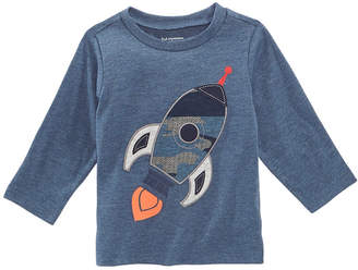First Impressions Toddler Boys Rocket-Print T-Shirt, Created for Macy's