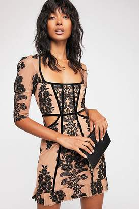 For Love & Lemons Temecula Fall Mini Dress