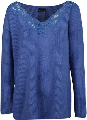 Ermanno Scervino Lace Detail Sweater