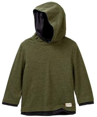 Tailor Vintage Reversible Hooded Tee (Toddler & Little Boys)
