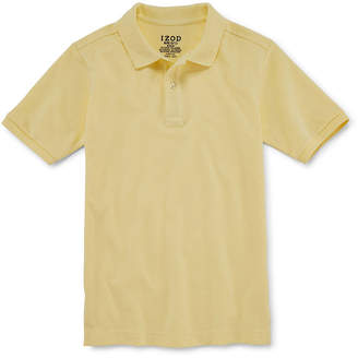 Izod EXCLUSIVE Stretch Piqu Short Sleeve Polo - Boys 8-20 and Husky