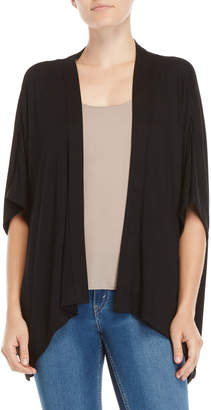 August Silk Dolman Sleeve Open Cardigan
